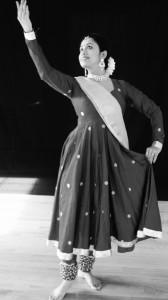 Rinku Kathak Black and White